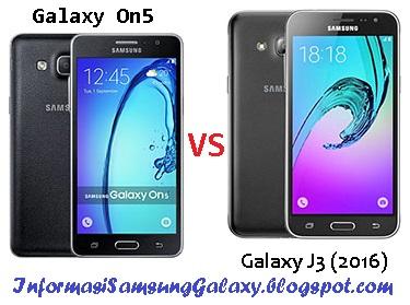 Perbandingan Samsung On5 vs J3 (2016)