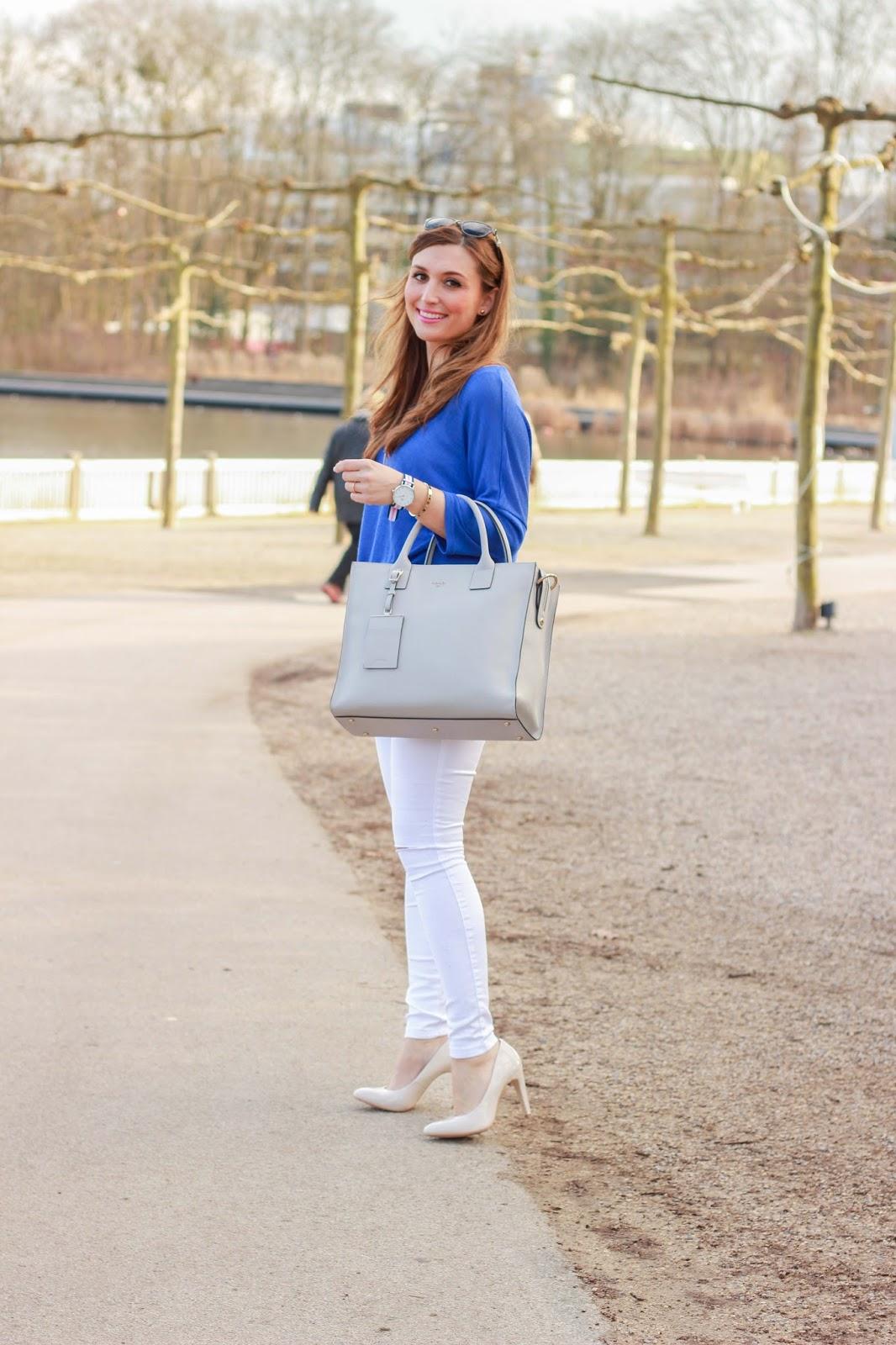 Fashionblogger aus Frankfurt - Frankfurt Blogger - German Fashionblogger - Fashionblog - Weiße Hose - Weiße Jeans - Streetstyleinspiration- Deutsche Fashionblogger -Lifestyleblog