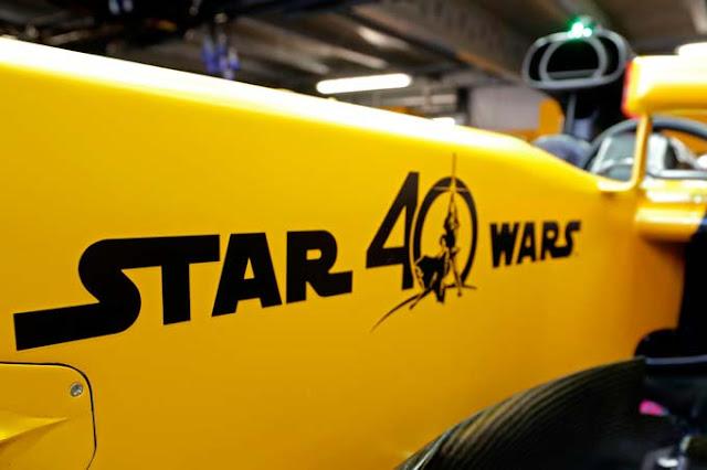 star wars 40th renault f1