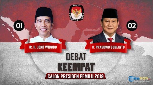 Tak Hadirkan Menteri, KPU Undang Panglima TNI dan Kapolri di Debat Keempat Pilpres 2019