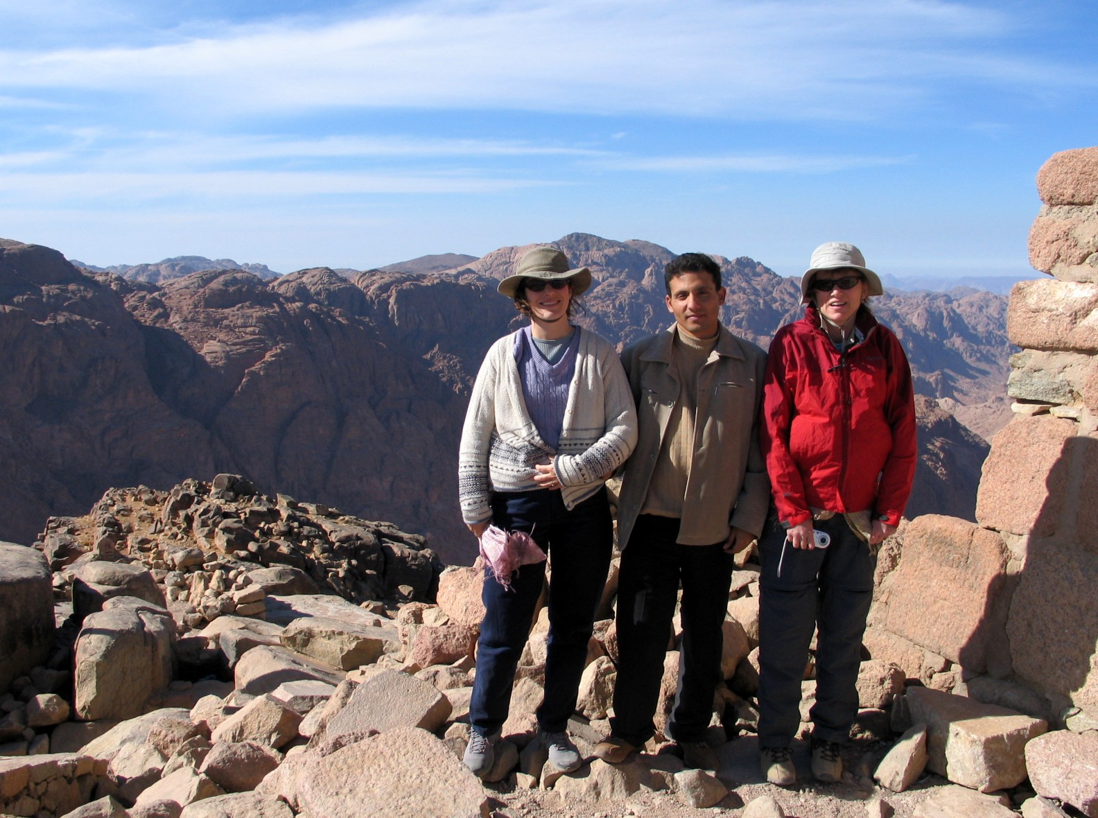 The Hikemasters' Trail Descriptions: Mount Sinai Summit Loop