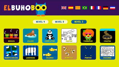 Buho Boo: una divertida app para los más pequeños
