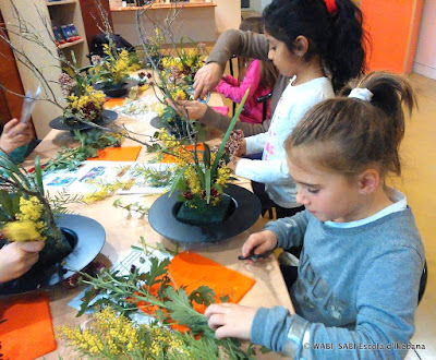 Ikebana-workshop-children-taller-de-ikebana-nens