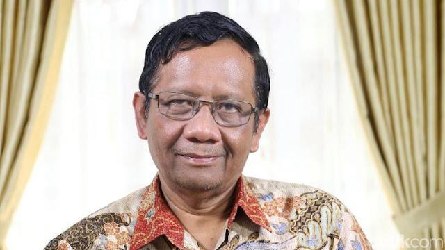 Mahfud Md Merasa Dijegal Jadi Cawapres Jokowi, Ini Kata PPP