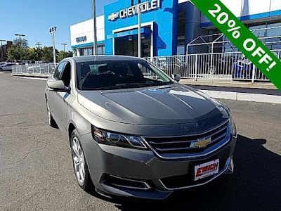 Our last 2017 Chevy Impala for sale at Emich Chevrolet
