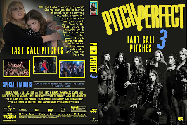 Pitch Perfect 3 DVD Cover