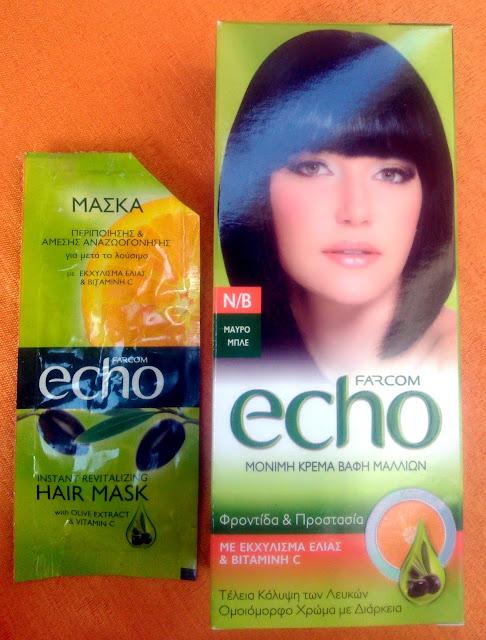 Farcom Echo Μόνιμη Βαφή Μαλλιών με Φυσικό Εκχύλισμα Ελιάς & Βιταμίνη C