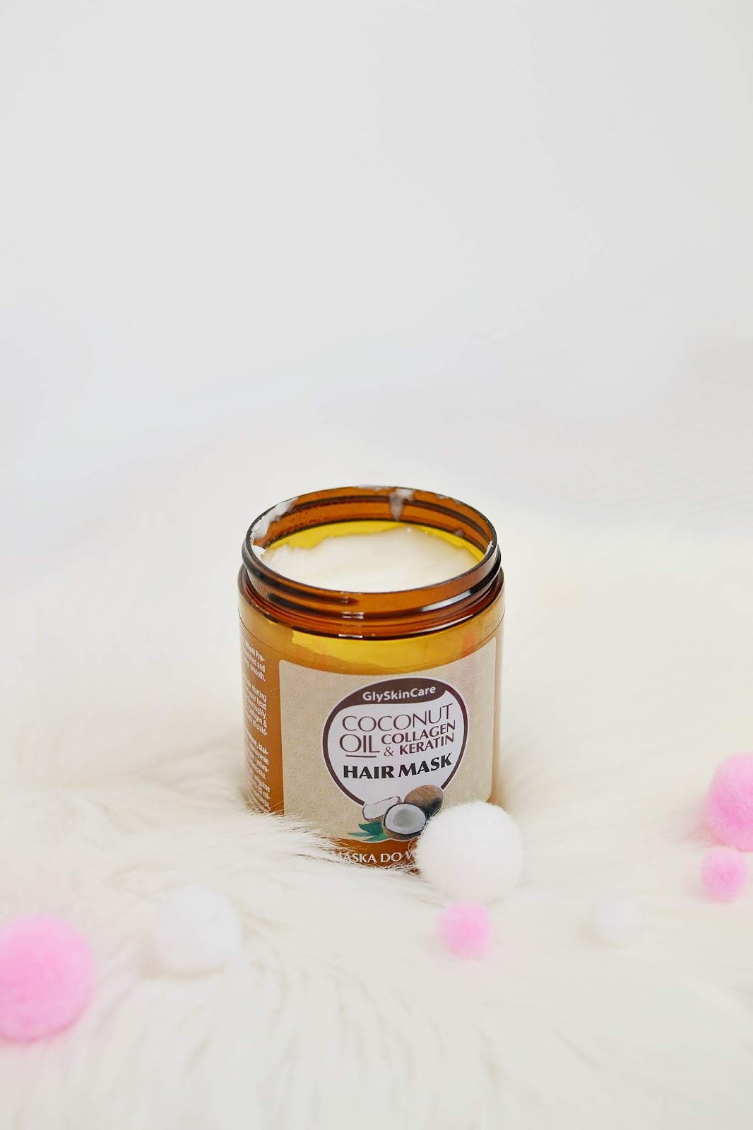 gly skin care coconut oil szampon odżywka maska
