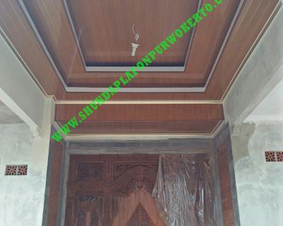 Pemasangan Plafon Pvc Shunda di Rumah Bapak Jalaludin