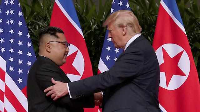 """Trump asegura que tiene """"buena química"""" con Kim Jong-un y que confía en él"""