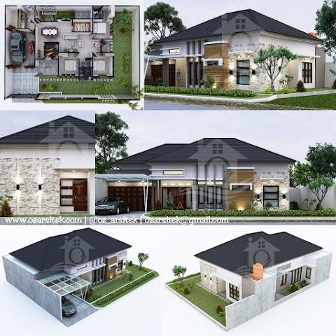 Desain Rumah Ibu Tika di Semarang
