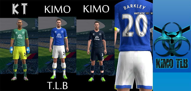 PES 2013 Everton Kit Season 2016-17