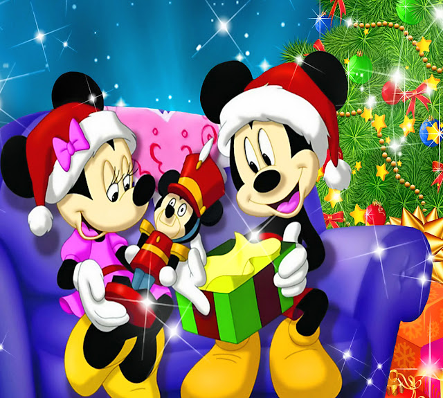 Mickeys christmas images