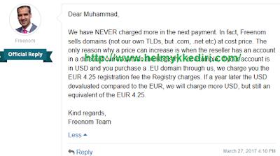 dengan EUR 4,25.
