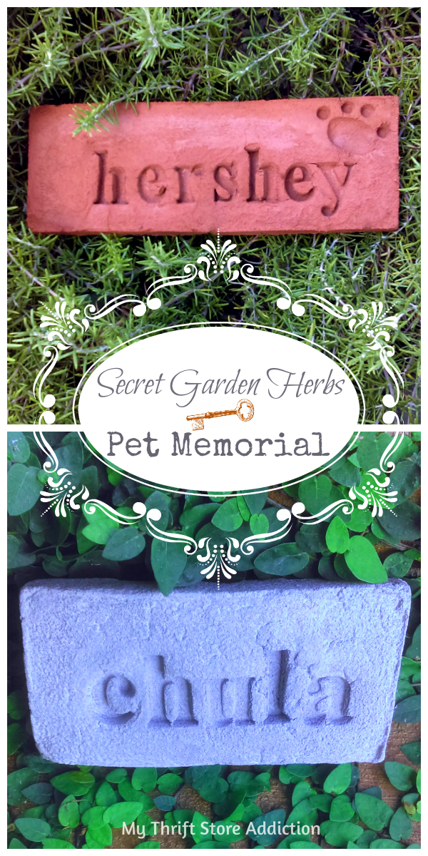 Secret Garden Herbs pet memorial