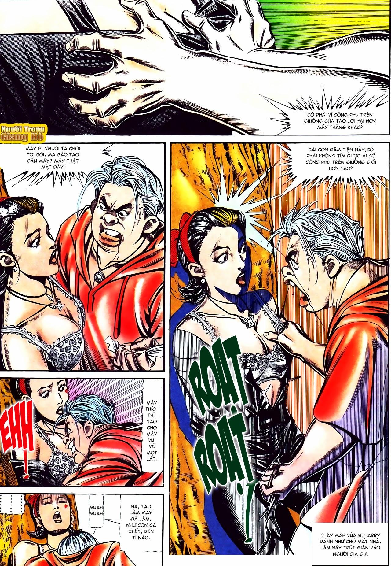 Người Trong Giang Hồ chapter 116: bình minh ló dạng ái tình tan vỡ trang 14
