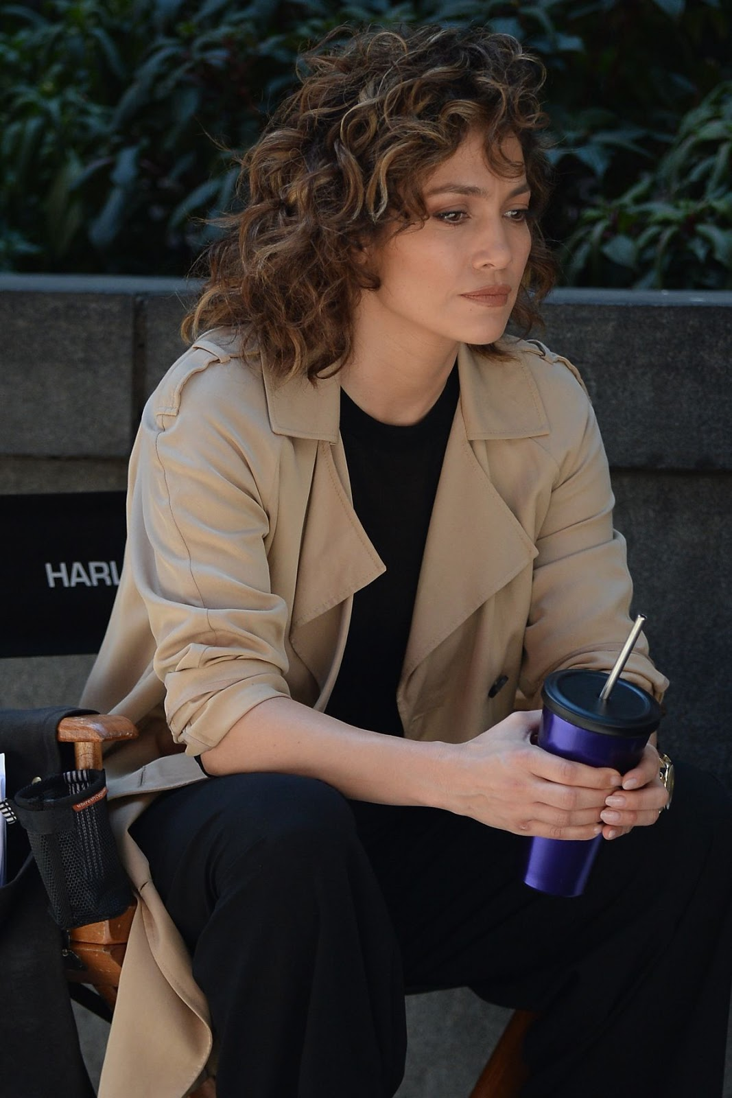 Jennifer Lopez On The Set Of Shades Of Blue In New York