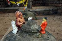 Impressionen im Tempel Jaya Sri Maha Bodhi - impressions
