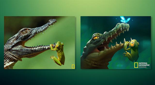 Fotografías-de-National-Geographic-convertidas-en-hermosas-ilustraciones