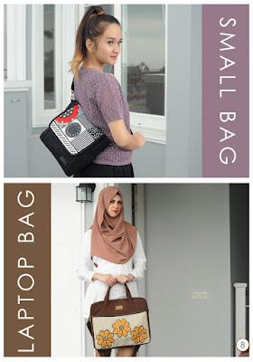 tas laptop lucu, tas smallbag maika, tas laptop unik