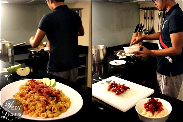 Cooking at Oakwood Manila Kitchen