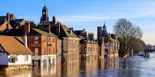 The risk of flooding is identified as one of the climate-related priorities for the UK. (Image Credit: Allan Harris via Flickr) Click to Enlarge.