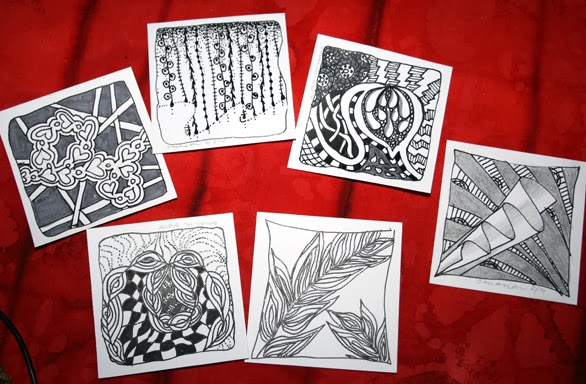 Art Journal - zentangles