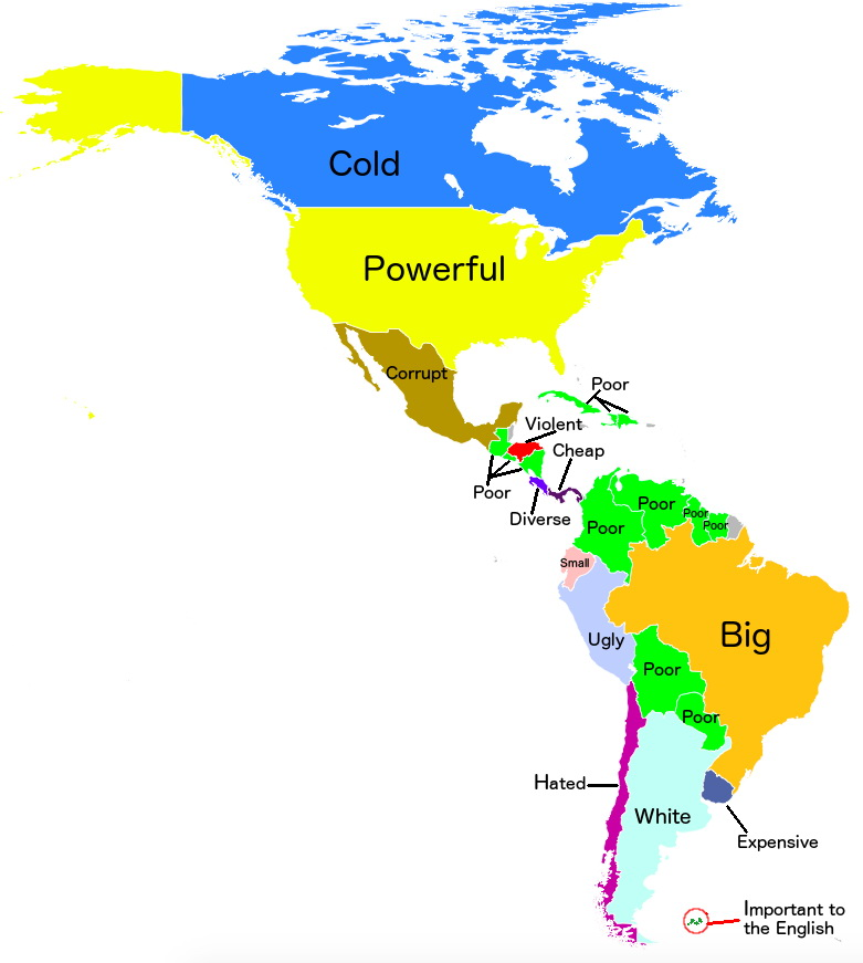"Google.ar autocomplete for Argentina: ""Why is  [country in the Americas]...?"""