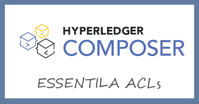 hyperledger composer essential acls
