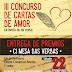 POESÍA Mesa das Verbas. Entrega premios concurso cartas de amor | 22feb