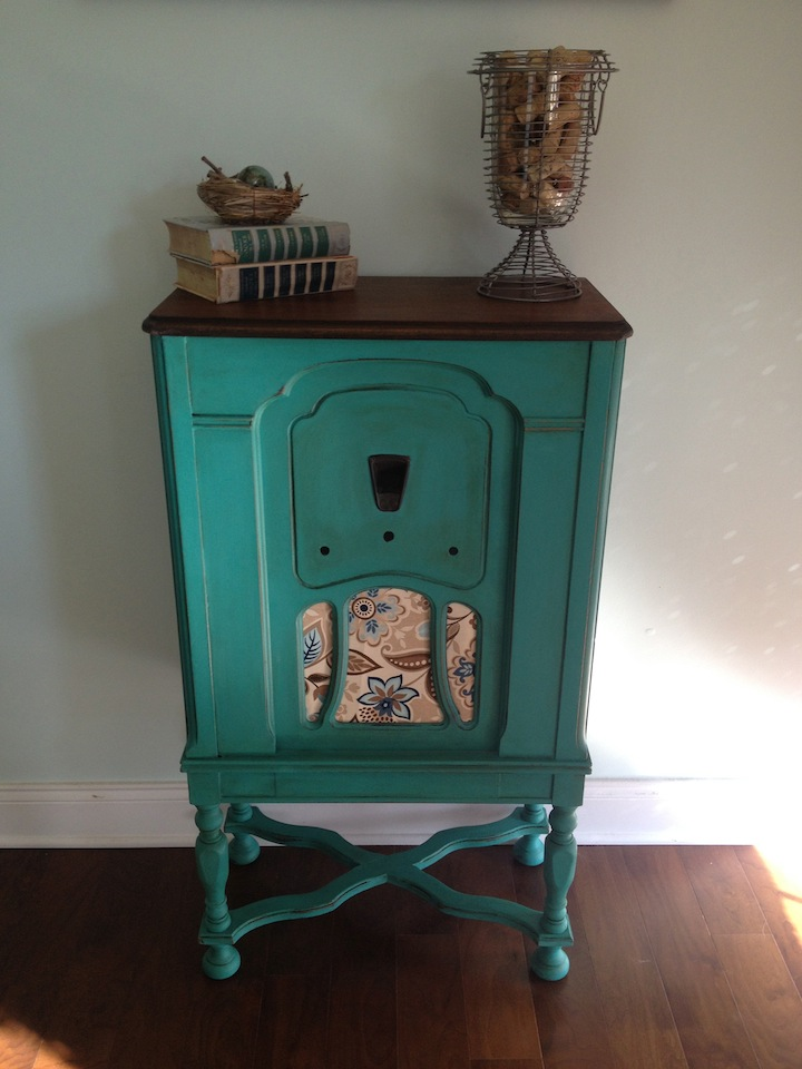 My Twig and Twine Nest Vintage Radio Cabinet Transformation