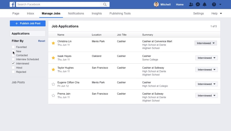 Facebook Upgrades Its Job Tool To Help Businesses Hire For The Holiday Season