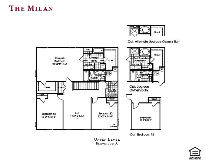 Makin' Milan Memories: Floorplan & Selections