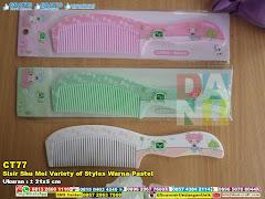 Sisir Shu Mei Variety Of Styles Warna Pastel