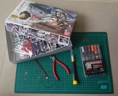 Peralatan Untuk Merakit Gundam