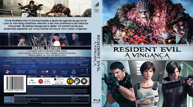 Capa Bluray Resident Evil A Vingança [Exclusiva]
