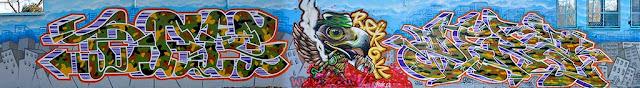 Graffitis Dam, Berok y Derz
