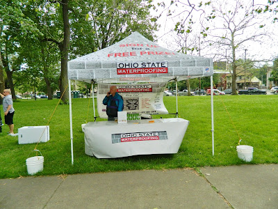 Ohio State Waterproofing Booth