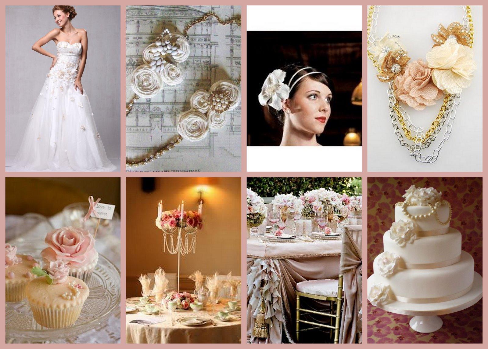 Old Rose Wedding Motif 90