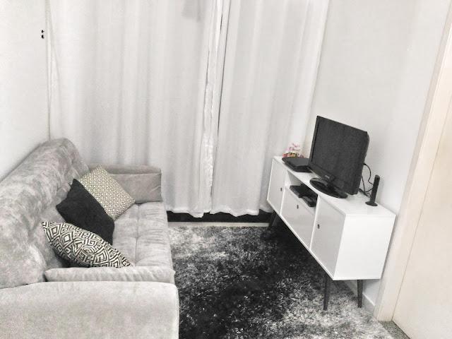 Montando meu Home_Sofá e Rack