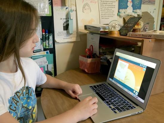 Online skills practice