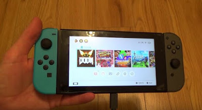Nintendo Switch, Game Console Menu