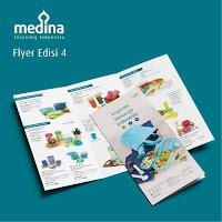 Dusdusan Flyer Medina 2018 Paket 50 Lembar ANDHIMIND
