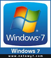 شعار ويندوز سفن Windows 7 Logo