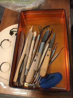 フリースタイル陶芸教室の道具