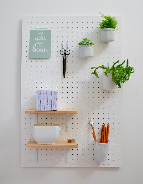 la petite verri re le tableau organiseur de bureau tuto. Black Bedroom Furniture Sets. Home Design Ideas