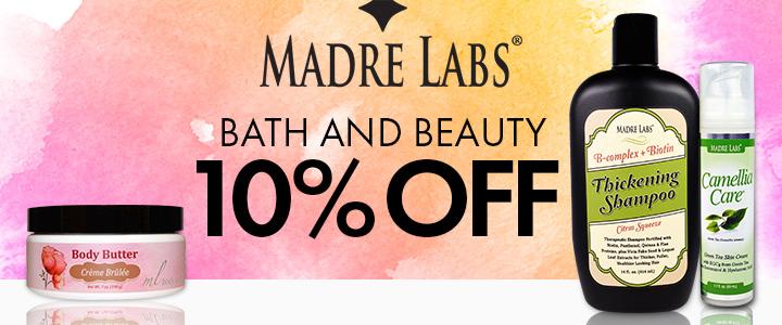 รีวิว iHerb Madre Labs Beauty Special ลด 10%