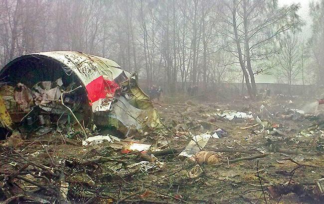 Американские исследователи подтвердили взрыв перед падением польского самолета под Смоленском