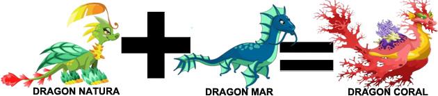 como sacar el dragon coral en dragon city combinacion 1