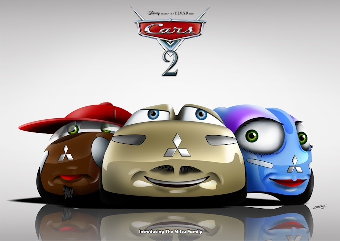 """Mitsu family from Japan.  It became popular after starring in the """"Cars 2"""" movie by Pixar Free JPG"""